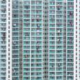Densely populated apartment building